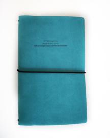 Fernweh Travel Notebook Blue
