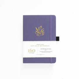 Archer & Olive Dotted Notebook A5 - Floral Details