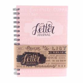 Bulletjournal 'My Letter Journal' Blossom (A5)