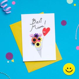 Kaart | Best Mum!