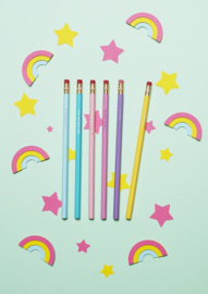 Believe in Unicorns Pencil Set