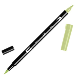 Tombow ABT Dual Brush Pen 131 Lemon Lime