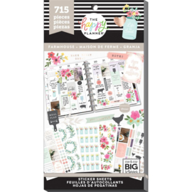 Happy Planner Sticker Value Pack - Farm House