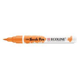 Talens Ecoline Brush Pen - 236 Licht oranje