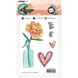 ​Studio Light Stamp A6 Sweet Flowers nr.437