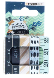 Studio Light Washi tape  - Winter Joys nr 06