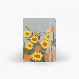 Mossery  Undated Planner  - Sunflowers