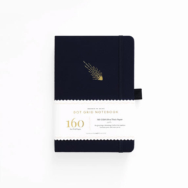 Archer & Olive  Dotted Notebook A5 - Falling Skies