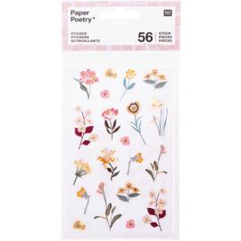 Paper Poetry Stickers - Nature Matters - 4 vellen