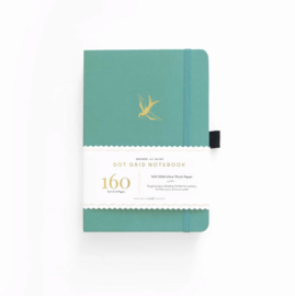 Archer & Olive  Dotted Notebook A5 - Gliding Swallow