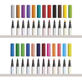 STABILO Pen 68 brush - viltstift met flexibele penseelpunt