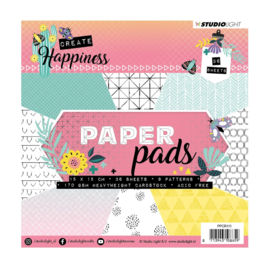 Studio Light - Paper pad Create Happiness nr.111