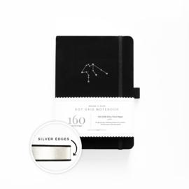 Archer & Olive  Dotted Notebook A5 Zodiac - Aquarius (Waterman)