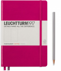 Leuchtturm1917 Notitieboek Medium Berry/Pink Dotted
