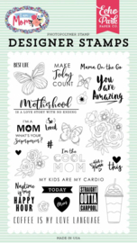 Echo Park Motherhood Clear Stamp