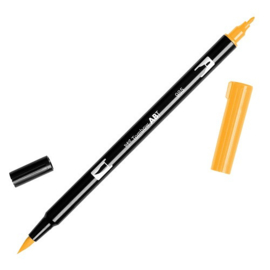 Tombow ABT Dual Brush Pen 985 Chrome Yellow