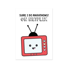 Kaart - Netflix Marathon