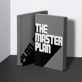 Nuuna Dot Grid Notitieboek  A5+ - The Master Plan   zwart wit