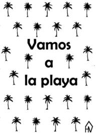 Postkaart Vamos a la Playa