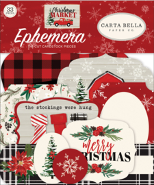 Carta Bella Christmas Market Ephemera