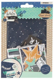 Studio Light  Die cut paper set Winter joys nr.657