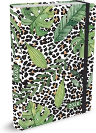 Studio Onszelf Agenda 2020 Leopard leaves Compact