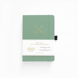 Archer & Olive Dotted Notebook B5 - Twin Arrows