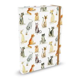 Peter Pauper Cat Tales notitieboek - gelinieerd