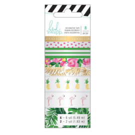 Heidi Swapp memory planner Washi tropical