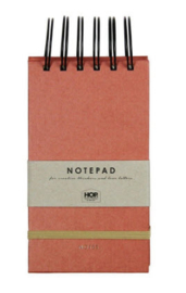 Notepad Small - Brick Red