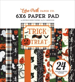 Echo Park Trick or Treat 6x6 inch Paper Pad