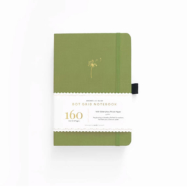 Archer & Olive  Dotted Notebook A5 - Dandelion Dreams