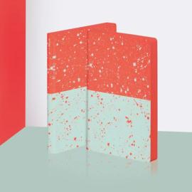 Nuuna Dot Grid Notitieboek A5+ - Color Clash L Light Sakura