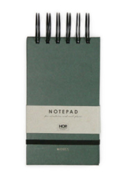 Notepad Small - Forest Green