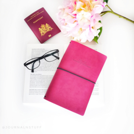 Fernweh Travel Notebook Pink