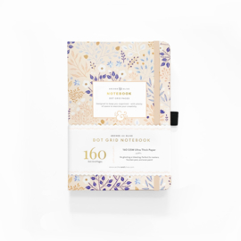Archer & Olive  Dotted Notebook A5 - Blush-A-Bye