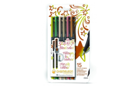 Chameleon Fineliners -Nature Colors- Set van 6