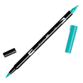 Tombow ABT Dual Brush Pen 373 Sea Blue