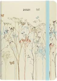 Peter Pauper 2021 Weekly Planner  16 mnd - Butterflies