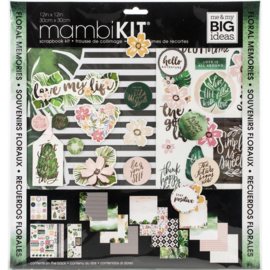 Me & My Big Ideas Page Kit - Mod Greenery
