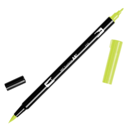 Tombow ABT Dual Brush Pen 133 Chartreuse