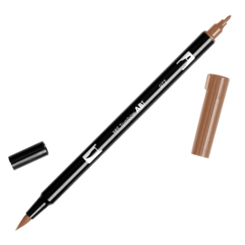 Tombow ABT Dual Brush pen 977 Saddle Brown