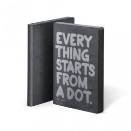 Nuuna Dot Grid Notitieboek A5 - Everything Starts From a Dot