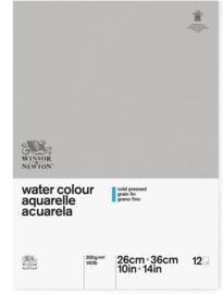 Winsor & Newton Classic Aquarelpapier 300 gr Cold Pressed - A4