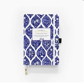 Archer & Olive Undated Planner A5 - Fleur-De-Blue