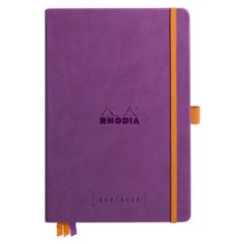 Rhodia | Rhodiarama Hardcover Goalbook A5 | Bullet Journal Purple