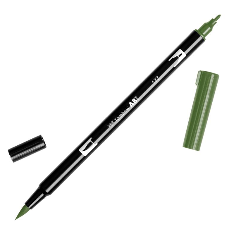 Tombow ABT Dual Brush pen 177 Dark Jade