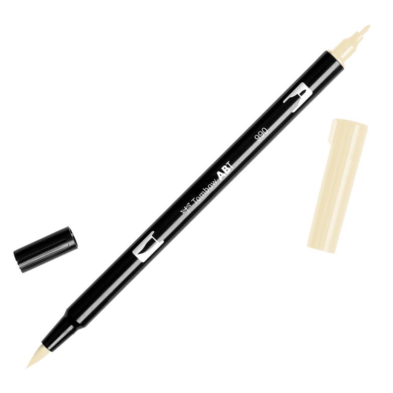 Tombow ABT Dual Brush pen 990 Light Sand