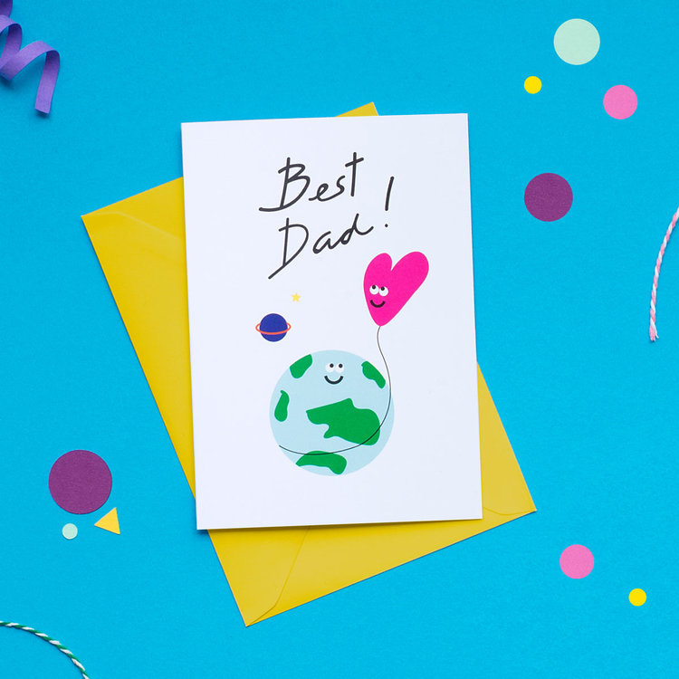 Wenskaart| Best Dad
