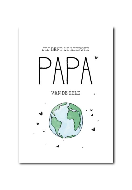 Kaart | Liefste papa van de hele wereld!